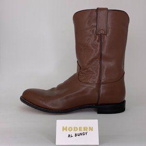 Justin Boots Men's Ropers Sz 12D